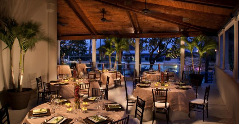 Banquet dining at the Jupiter Beach Resort amp Spa