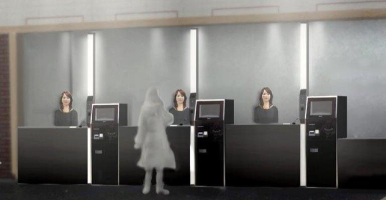 Going to Bot: Robot-staffed Hotel to Open in Japan this Summer