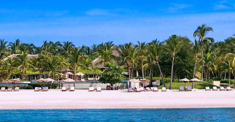 Pictured is the St Regis Punta Mita Resort