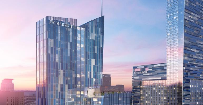 JW Marriott L.A. LIVE Plans Huge Expansion