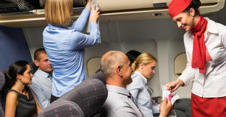 How boarding a plane should be Nice and respectful Image by CandyBoxImages on Thinkstock by Getty Images