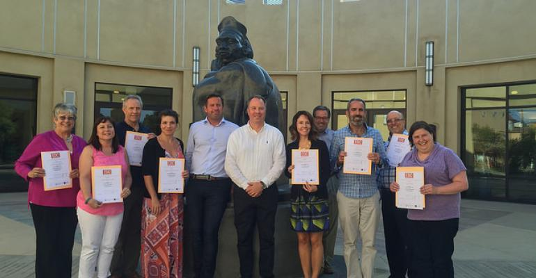 Participants at the first Global Event Design Certificate program
