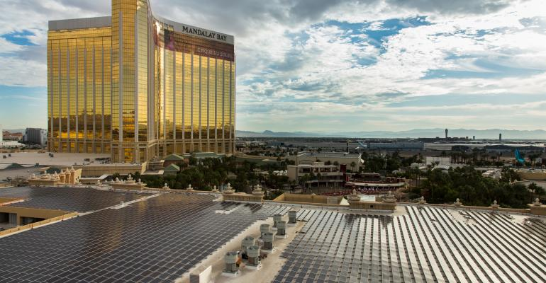Mandalay Bay Convention Center Nears Expansion Finish Line