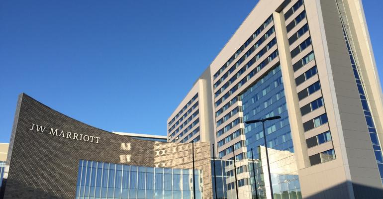 Luxe JW Marriott Opens at America's Biggest Mall