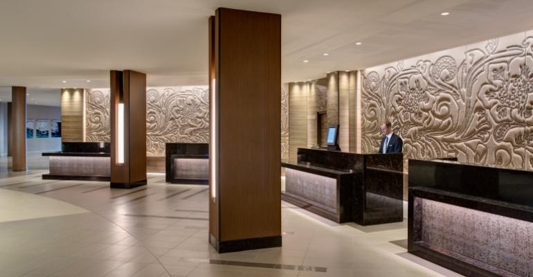 Big Refresh for Houston Airport Marriott