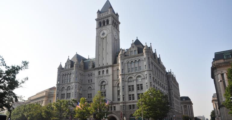 Trump Elects to Open D.C. Hotel in September, Two Years Ahead of Schedule