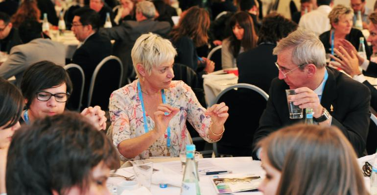 Participants in Association Day at IMEX Frankfurt April 18