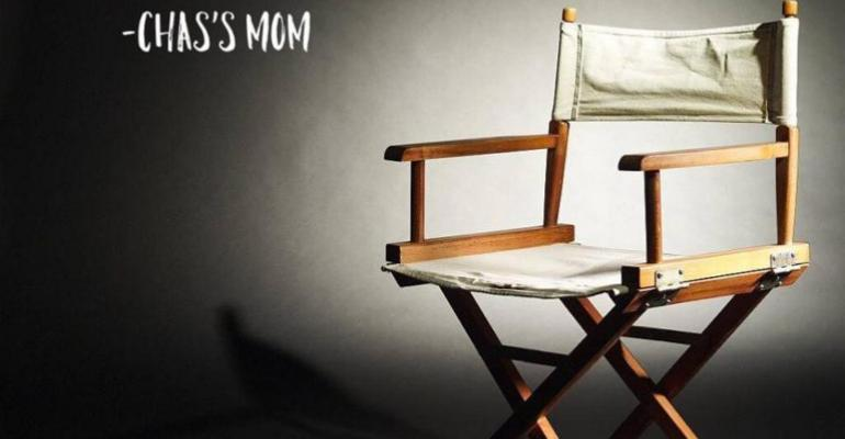Tomorrow is another day quote with directors chair