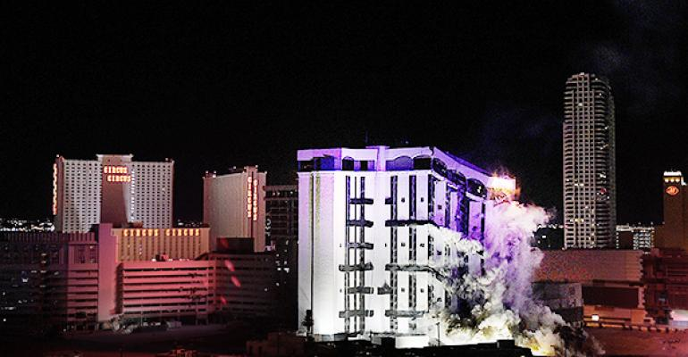 Boom! Demolition of the Riviera Makes Way for a Bigger Vegas Convention Center