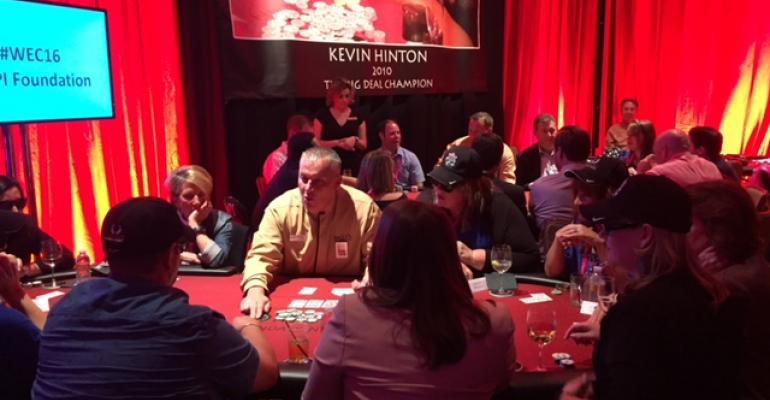 Poker at The Big Deal MPI WEC16 fundraiser