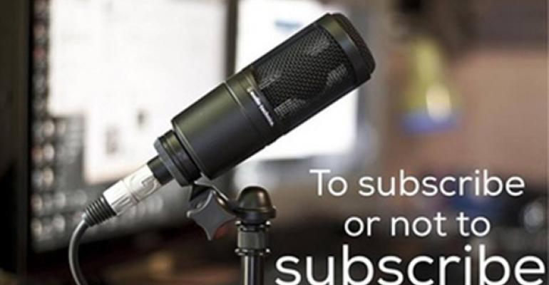 microphone with subscribe or not to subscribe type