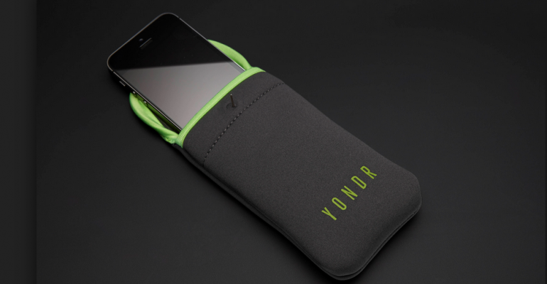 Yondr smartphone security pouch