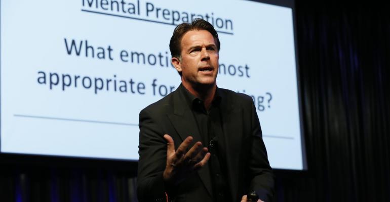 MEETologys Jonathan Bradshaw at the opening keynote of Smart Monday