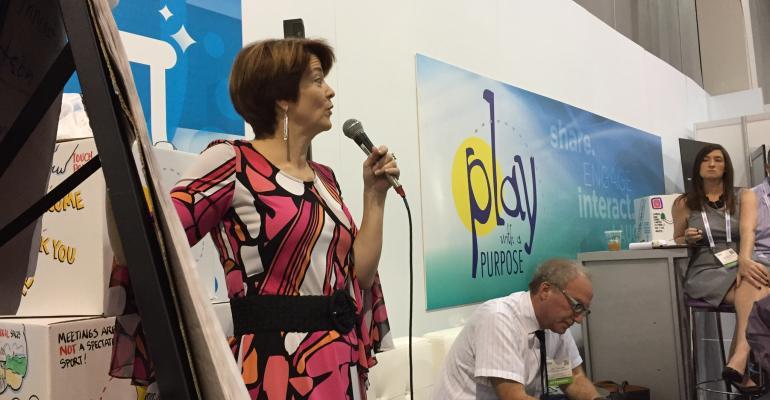 Innovation consultant and keynote speaker Susan Robertson of Sharpen Innovation