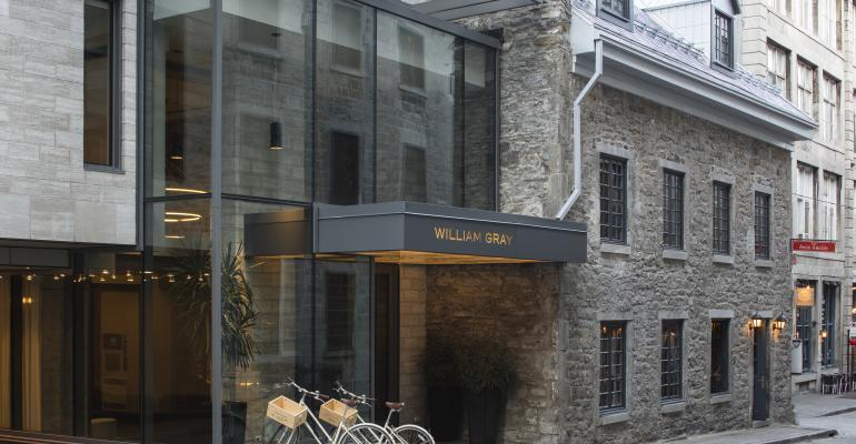 A New Option in Old Montreal: Hôtel William Gray