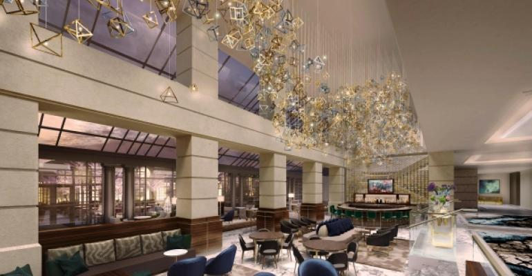 Fairmont washington d c unveils 27 million makeover for Hotel design washington dc