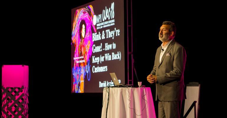 David Avril, CSP, speaking at WEC18
