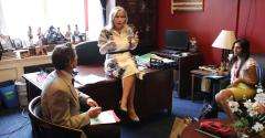 Rep. Debbie Dingell (D-MI) knows her RESULTS volunteers well, as they regularly contact her back in Michigan as well as visiting with her here in the Cannon House Office Building in D.C.